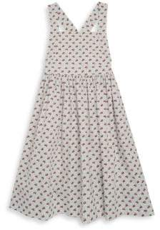 Bonpoint Toddler's, Little Girl's& Girl's Printed Cotton A-Line Dress