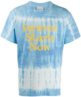 Nasaseasons Forever Starts Now print T-shirt