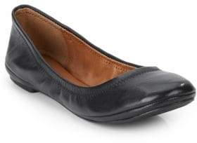 Lucky Brand Elysia Leather Ballet Flats