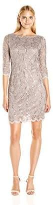 Tiana B Women's Sequin Lace Sheath Dress