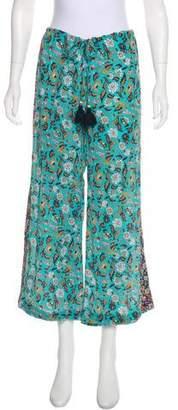 Figue Estela Floral Silk Pant w/ Tags