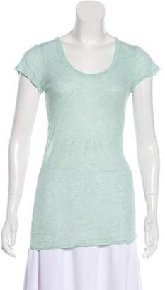AllSaints Short Sleeve Scoop Neck T-Shirt