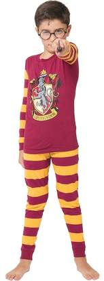 Intimo Harry Potter Gryffindor Snug Fit Cotton PJ Set (Big Boys)