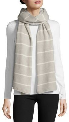 Striped Cashmere Scarf $257 thestylecure.com