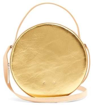 Pb 0110 Ab38 Leather Cross Body Bag - Womens - Gold Multi