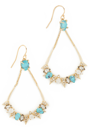 Alexis Bittar Pavé Spike Stone Cluster Earrings $265 thestylecure.com
