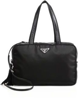 Prada Nylon Tassel Satchel $1,050 thestylecure.com