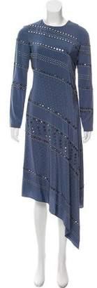 Tory Burch Silk Embellished Dress