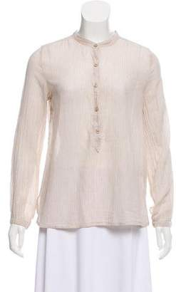 Etoile Isabel Marant Long Sleeve Pinstripe Top
