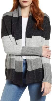Caslon Shawl Collar Pattern Cardigan