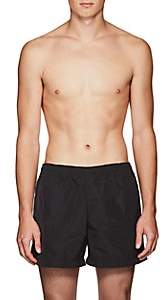 Tomas Maier MEN'S DRAWSTRING SWIM TRUNKS-BLACK SIZE M