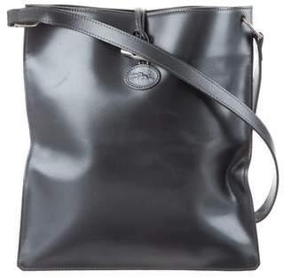 Longchamp Metallic Leather Shoulder Bag
