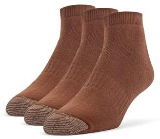 Galiva Men's Cotton Extra Soft Ankle Cushion Socks - 3 Pairs