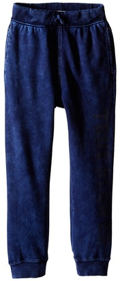 True Religion Kids French Terry Drop Crotch Sweatpants (Toddler/Little Kids) $59 thestylecure.com