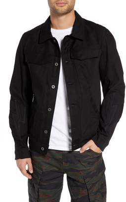 G Star Motac-X Moto Uni Slim Cotton Denim Jacket