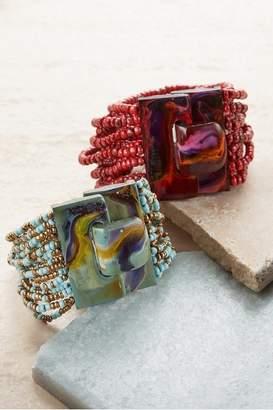 Soft Surroundings Marbleized Buckle Bracelet