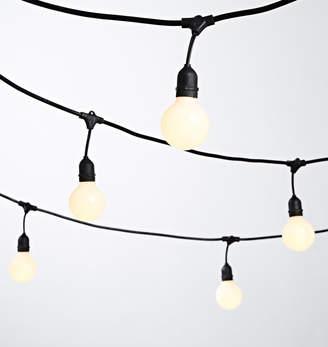 Rejuvenation 24 G25 LED White Bulb String Lights