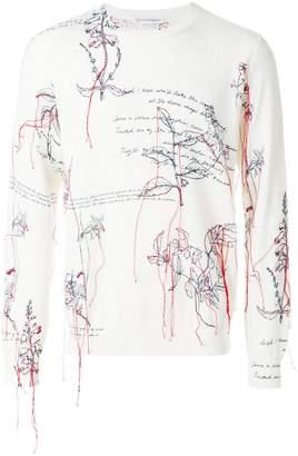 Alexander McQueen Explorer thread sweater