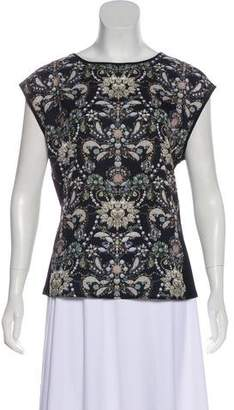 Ted Baker Printed Sleeveless Top