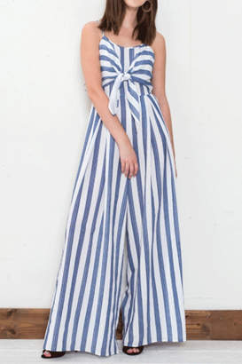 Flying Tomato Tie Front Jumpsuit