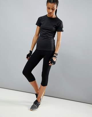 bf8b3affea6849 Asos 4505 4505 high waist cropped sports legging with black spandex