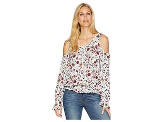 Rock and Roll Cowgirl Cold Shoulder B4-6074