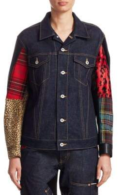 Junya Watanabe Denim Patchwork Jacket