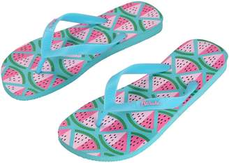 Aerusi Tropical Flip Flop Sandal Watermelon Women's Size 7.5 to 8.5