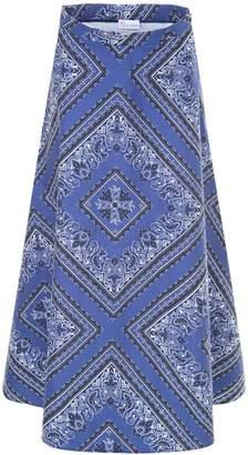 RED Valentino Bandhana Print Skirt