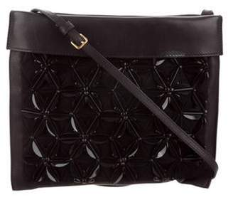 Marni Flower Crossbody Bag Black Flower Crossbody Bag