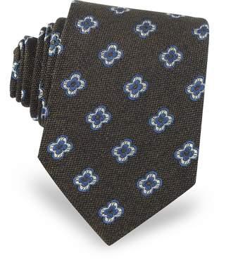 Forzieri Daisy Woven Silk Men's Tie