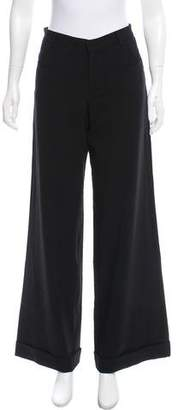 Jean Paul Gaultier Mid-Rise Virgin Wool Pants