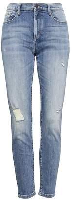 Banana Republic Petite Skinny Light Wash Jean
