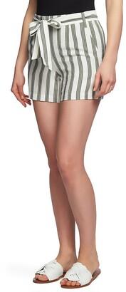 1 STATE 1.STATE Regancy Stripe Shorts