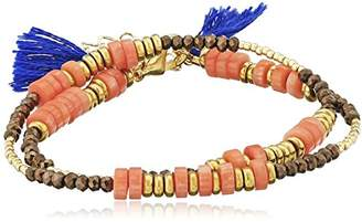 Shashi Farrah Wrap Bracelet