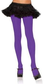 Leg Avenue Women's Plus-Size Plus Size Spandex Nylon Tights, Purple
