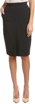 Max Mara Wool & Silk-Blend Skirt