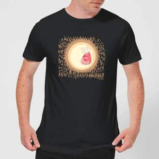 Rick And Morty Rick and Morty Screaming Sun Men's T-Shirt