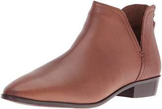 Kenneth Cole Reaction Women's Loop Notch Out Back Zip Ankle Bootie