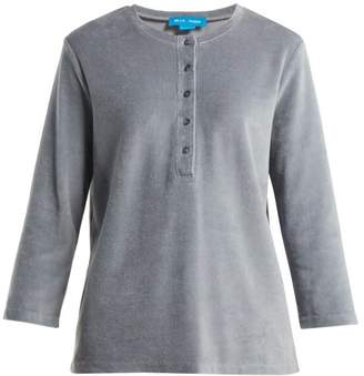 MiH Jeans Ashley Cotton Blend Top - Womens - Grey