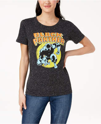 Hybrid Juniors' Black Panther Graphic T-Shirt