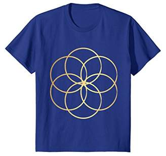 Seed Of Life T-Shirt - Sacred Geometry Yoga Meditation Tee