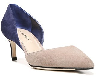 Women's Via Spiga 'Ava' D'Orsay Pump $195 thestylecure.com