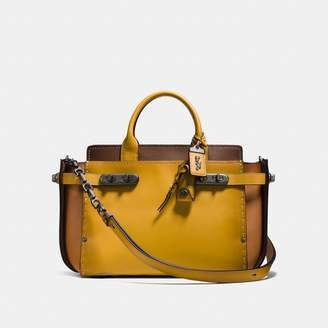 Coach Double Swagger In Colorblock Sales Price $795