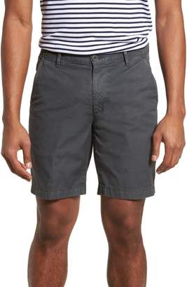 AG Jeans Wanderer Slim Fit Cotton & Linen Shorts