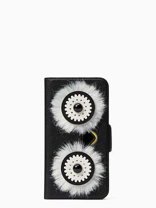 Kate Spade Penguin iphone x & xs folio case
