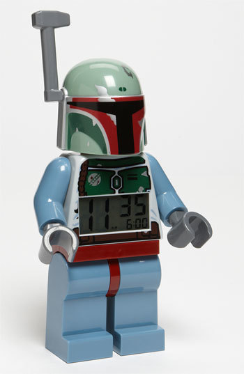 Lego 'Star Wars TM - Boba Fett' Alarm Clock