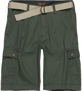 Wearfirst Solid Cargo Short with Solid Belt - Men's
