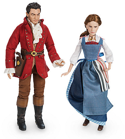 Disney Belle & Gaston Film Collection Doll Set - Beauty and the Beast - Live Action Film