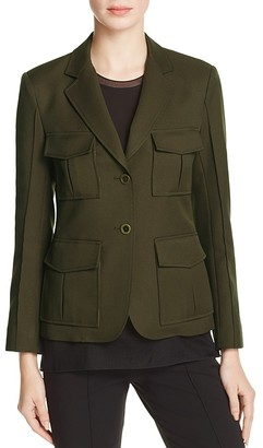 Theory Lackman Pocket-Detail Jacket $475 thestylecure.com